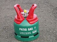 New Green 5kg Calor Patio BBQ Gas Bottle