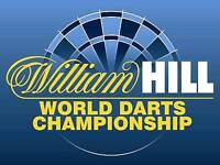 4 x Front Table Tickets PDC World Darts Championsip. 19/12