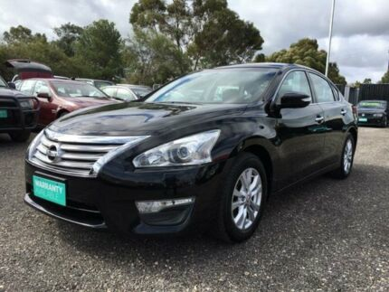 2014 Nissan Altima L33 ST X-tronic Black 1 Speed Constant Variable Sedan