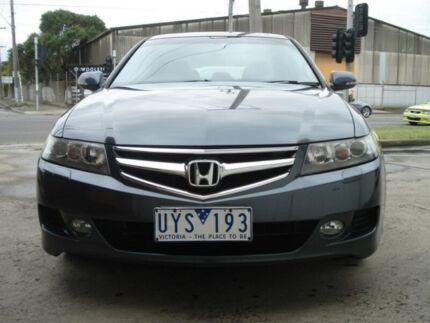2007 Honda Accord Euro CL MY2007 Luxury Grey 5 Speed Automatic Sedan