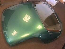 MG TF Original Hardtop - Le Mans Racing Green with heated rear screen - Excellent Condition