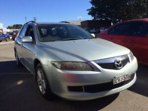 2005 Mazda 6 GY Classic Silver 4 Speed Auto Activematic Wagon Georgetown Newcastle Area Preview