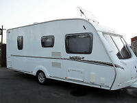 Abbey Vogue 2 2009 4 berth excellent condition Fixed end bed