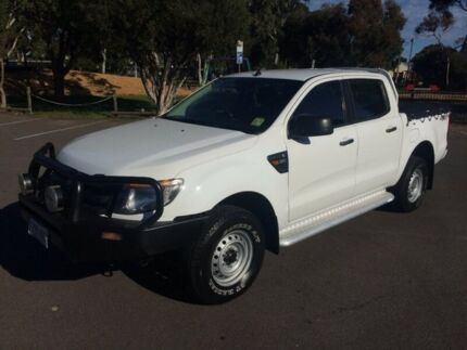 2013 Ford Ranger PX XL 3.2 (4x4) 6 Speed Automatic Dual Cab Utility