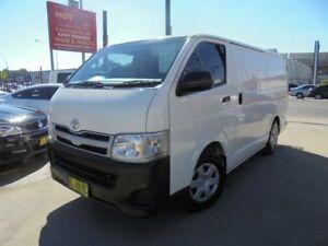 2011 Toyota Hiace KDH201R MY11 White 5 Speed Manual Van