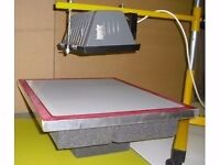 SCREEN PRINTING EXPOSURE UNIT - Make & sell your printed designs on paper or fabric