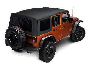 Jeep Wrangler Unlimited 4 door soft top soft-top NEW in box