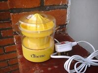LINETTE ELECTRICAL CITRUS SQUEEZER / JUICER
