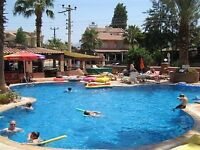 2 week self catering turkey holiday for 2 adults