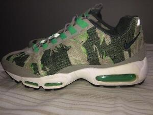Nike Air Max 95s Green Camo for SALE