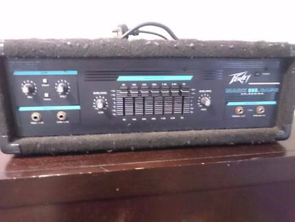 Peavey Bass amp and cabinet