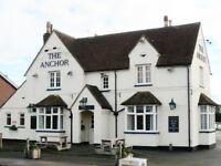 Bar Staff required urgently @ The Anchor Pub Cardington Road Bedford