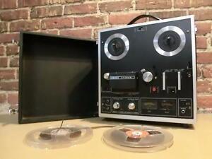 Enregistreur 4 pistes / 4 tracks Vintage et fonctionnel Akai avec bobines (i013270)