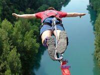 Killicrankie Bungee Jump for Spina Bifida Scotland
