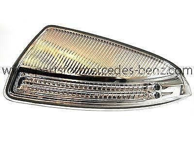 Mercedes c class wing mirror indicator ebay for Mercedes benz c300 side mirror glass