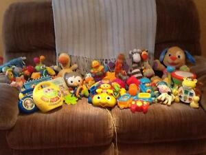 LARGE Lot of Baby Toys