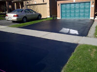 Driveway sealing and crack filling