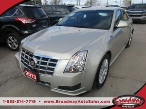 2013 Cadillac CTS LOADED LUXURY EDITION 5 PASSENGER 3.0L - V6..