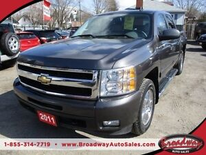 2011 Chevrolet Silverado 1500 LOADED LTZ EDITION 5 PASSENGER 5.3