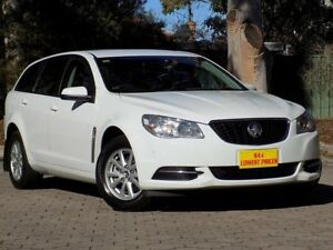 2013 Holden Commodore VF MY14 Evoke Sportwagon White 6 Speed Sports Automatic Wagon Blair Athol Port Adelaide Area Preview