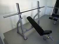 Impulse Fitness Commercial Incline chest bench