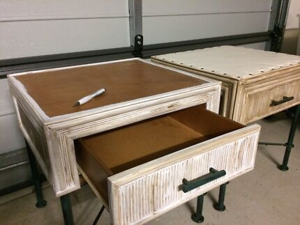 Fixer upper side tables