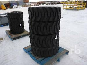 UNUSED TRACTION PLUS Qty Of (4) 15x19.5 14 Ply Tire