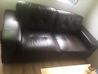 3 seater leather sofa delivery available