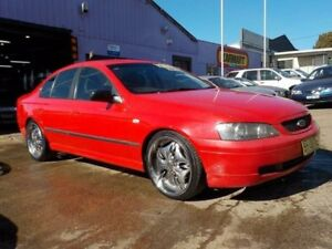 2003 Ford Falcon BA XT Red 4 Speed Sports Automatic Sedan North St Marys Penrith Area Preview