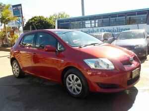 2009 Toyota Corolla ZRE152R Ascent Red 6 Speed Manual Hatchback North St Marys Penrith Area Preview