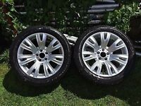 "19"" bmw x5 oem factory genuine style 223 m package v spoke wheel"