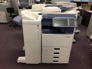 Toshiba E-Studio 3555C Multifunction Color Copier Printer Photocopier Copy Machine Finisher 11x17 Coloour Copiers Scaner