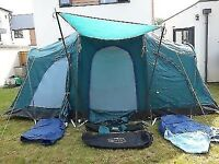 Coleman Weathermaster 8 person tent