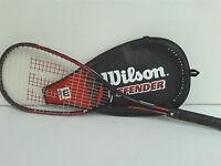 squash racquet WILSON DEFENDER LARGE HEAD (ANTI VIBE) NEW