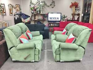TODAY DELIVERY COMFORTABLE ALL RECLINER 2X1X1 sofas set SALE NOW Belmont Belmont Area Preview