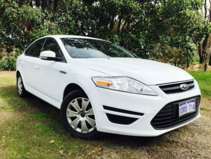 2011 Ford Mondeo MC LX White 6 Speed Automatic Hatchback