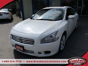 2014 Nissan Maxima LOADED 'S-TYPE' 5 PASSENGER 3.5L - V6.. LEATH