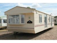 Static Caravan for sale in Cumbria, fully double glazed and central heated