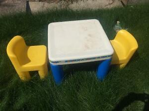 MOVING SALE Little Tykes Table & 2 Chairs