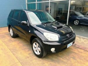 2005 Toyota RAV4 ACA23R CV Sport Black 4 Speed Automatic Wagon Hobart CBD Hobart City Preview