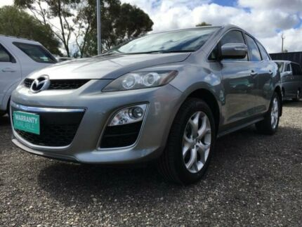 2010 Mazda CX-7 ER1032 Luxury Activematic Sports Silver 6 Speed Sports Automatic Wagon Elizabeth West Playford Area Preview