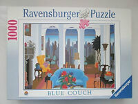 RAVENSBURGER PUZZLE BLUE COUCH COMME NEUF TAXE INCLUSE