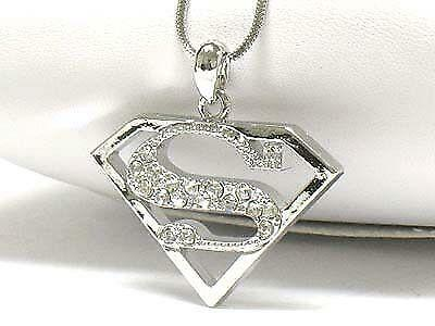Gold Superman Necklace Ebay