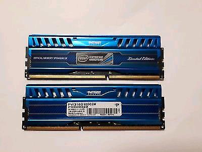 16GB Patriot Intel Extreme Masters 1600mhz