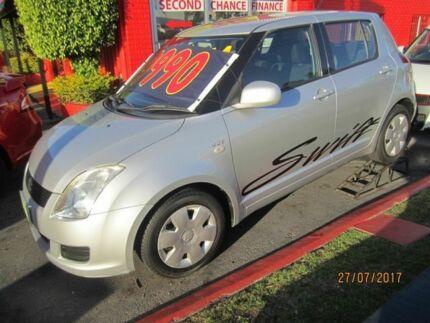 2007 Suzuki Swift EZ 07 Update Silver 4 Speed Automatic Hatchback Capalaba Brisbane South East Preview
