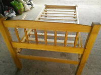 Six Foot Single Bed Frame - Solid Wood