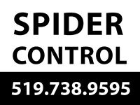 SPIDER CONTROL, ANTS, EARWIGS, ETC