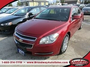2011 Chevrolet Malibu LOADED 2-LT MODEL 5 PASSENGER 2.4L - ECO-T