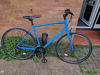 WANTED Marin Fairfax SC2 Boys Bicycle 19 inch Frame Matt Blue with Black pannier and stand