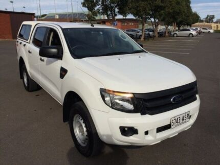 2012 Ford Ranger PX XL 2.2 (4x4) 6 Speed Automatic Crew Cab Utility